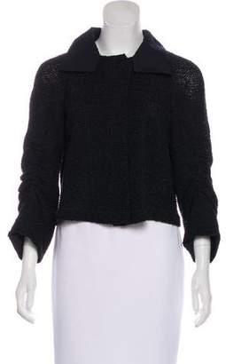 Akris Collared Tweed Jacket