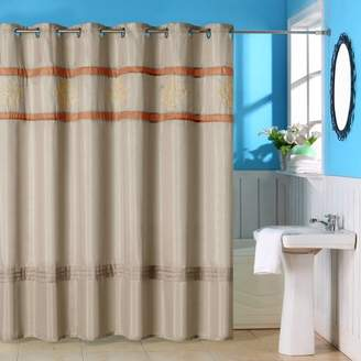 Radcliff Embroidered Shower Curtain with Grommets by Somerset Home