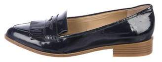 Saks Fifth Avenue Patent Leather Pointed-Toe Loafers