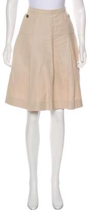 Chanel Knee-Length A-Line Skirt