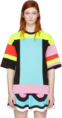Emilio Pucci Multicolor Colorblock Pullover $1,140 thestylecure.com