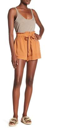 Know One Cares Paperbag Waist Shorts