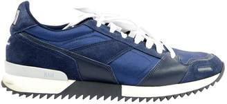 Ami Navy Cloth Trainers