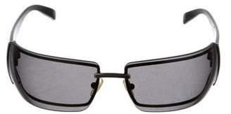 Versace Medusa Rimless Sunglasses