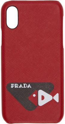 Prada Red Fish iPhone X Case