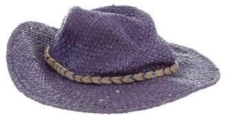 Tory Burch Raffia Western Hat