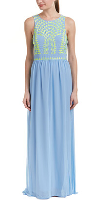 Tahari by Arthur S. Levine Tahari Asl Maxi Dress
