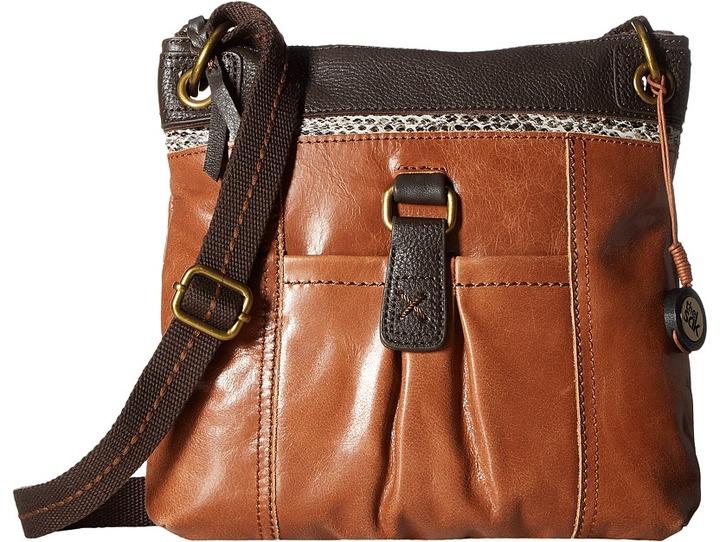 The Sak Kendra Leather Crossbody Cross Body Handbags