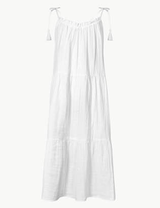 Marks and Spencer Pure Cotton Slip Beach Dress