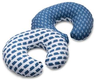 Boppy Classic Plus Whales and Anchors Slipcover
