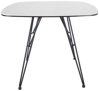 Euro Style Alisa 36 Ceramic Glas Dining Table