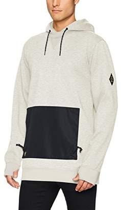 DC Men's Cloak Snow Water Resistant Pullover Sweatshirt