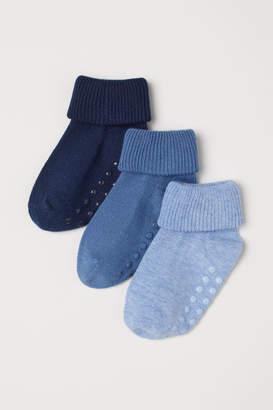 H&M 3-pack Socks - Blue