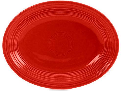 Fiesta Scarlet Oval Platter