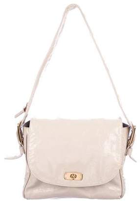 Marc Jacobs Patent Leather Flap Shoulder Bag