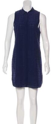 Equipment Sleeveless Eyelet Dress w/ Tags