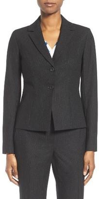 Women's Classiques Entier Stretch Wool Suit Jacket $299 thestylecure.com