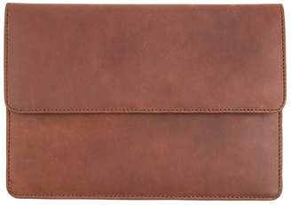 Mahi Leather Leather Travel Document Wallet In Vintage Brown