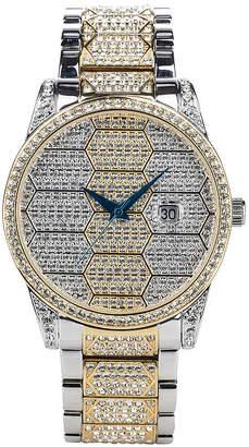 Croton N/A Womens Silver Tone Bracelet Watch-Cn207562ssbd