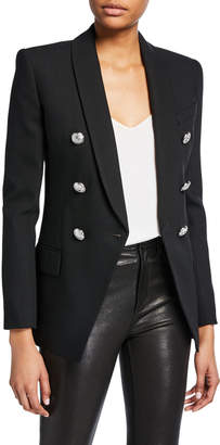 Balmain Long Wool Blazer