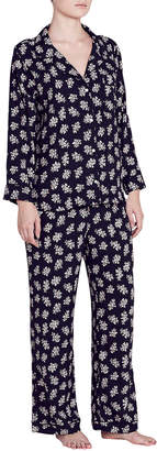 Eberjey X Rebecca Taylor Lou Silk Pajama Set