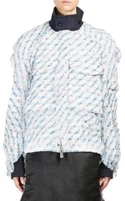 Sacai All In Print Blouson
