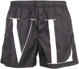 Valentino Logo Swimwear