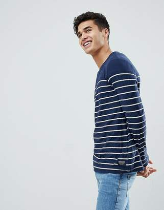Tom Tailor Long Sleeve Top With Stripe