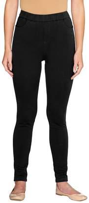 Denim & Co. Regular Comfy Knit Denim Pull-On Leggings