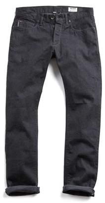 Todd Snyder Denim Made in L.A Selvedge 11 oz Black Rinse Jean