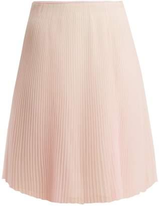 Prada Cigaline pleated skirt