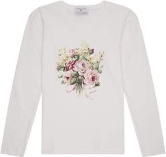 MonnaLisa Floral Bouquet T-Shirt