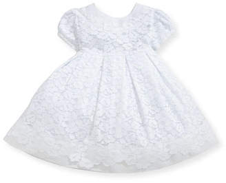 Isabel Garreton Gala Organdy Lace Dress w/ Bloomers, Size 3-24 Months