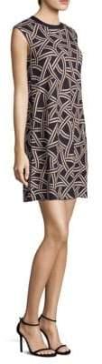 Max Mara Tesoro Ribbon Print Dress