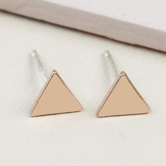 af58081c9 Gold Triangle Stud Earrings - ShopStyle UK