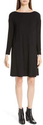 Eileen Fisher Bateau T-Shirt Dress