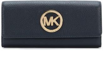 Michael Kors logo continental wallet