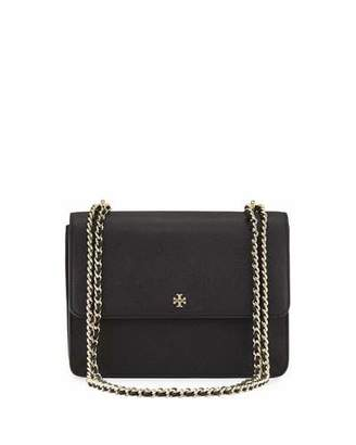 Tory Burch Robinson Convertible Shoulder Bag, Black $395 thestylecure.com