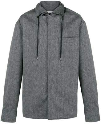 Lanvin drawstring long-sleeve shirt
