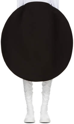 Junya Watanabe Black High/Low Bubble Skirt