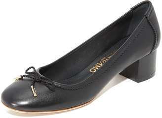 Salvatore Ferragamo Enea Pumps $395 thestylecure.com