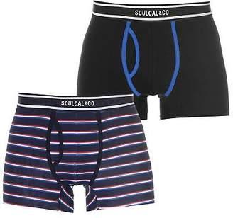 Soul Cal SoulCal Mens Cal Striped Bxr S83 Boxer Underwear