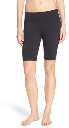 Women's Under Armour 'Mirror Jammer' Studiolux Shorts $50 thestylecure.com