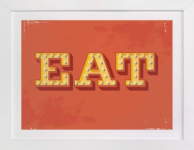 EAT Art Print