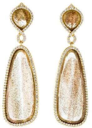 Melinda Maria Crystal Drop Earrings