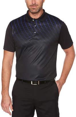 PGA Tour TOUR Easy Care Short Sleeve Pattern Polo Shirt