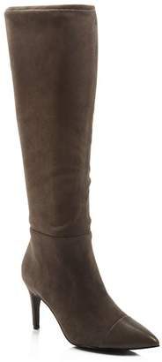Charles David Women's Parish Pointed Toe Suede & Leather Boots