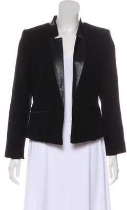 Milly Virgin Wool Bouclé Blazer