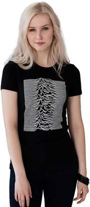 Pulsar Strand Clothing Used by Joy Division for The Unknown Pleasures Album Women's Ladies T Shirt - XL