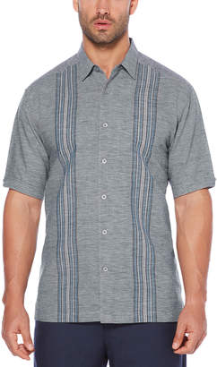 Cubavera Panel Stripe Shirt